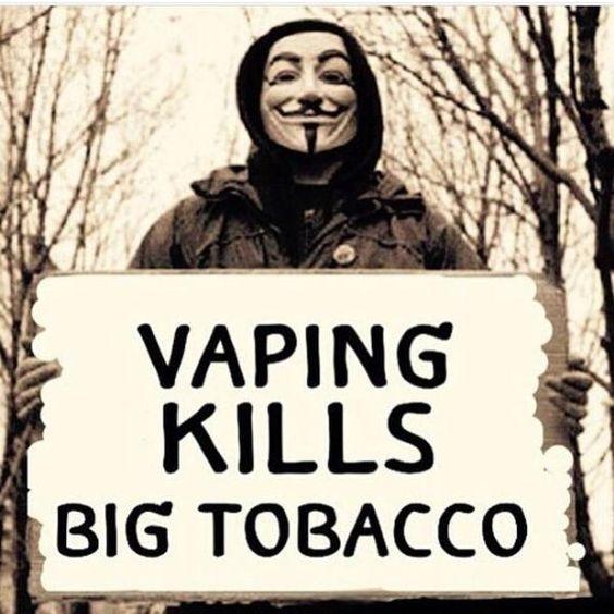 Vaping Kills Big Tobacco