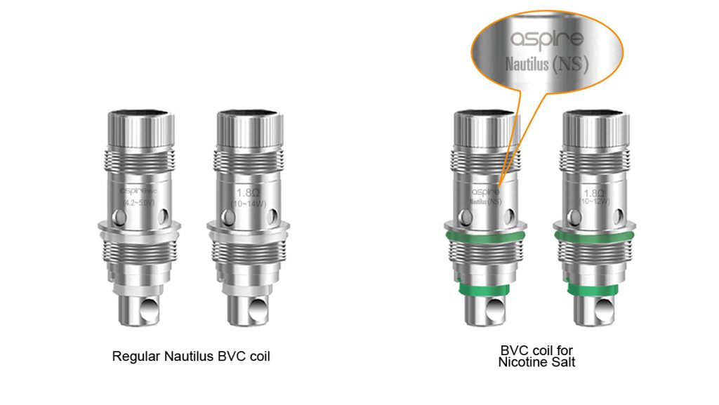 Aspire Nautilus BVC Coils Review