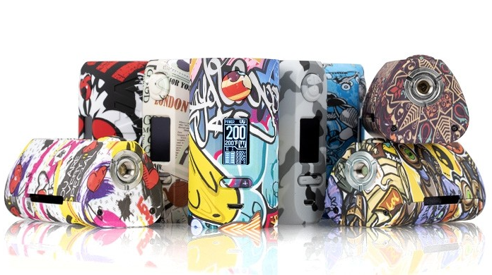 Vapor Storm PUMA 200W TC Box Mod Review - The Kit content