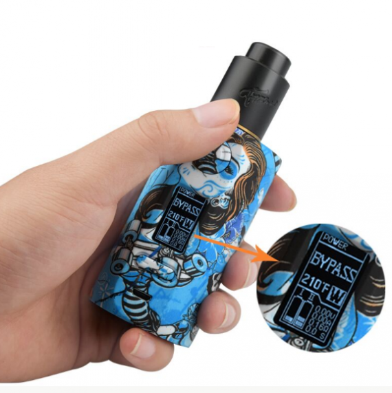 Vapor Storm PUMA 200W TC Box Mod Review - Usability