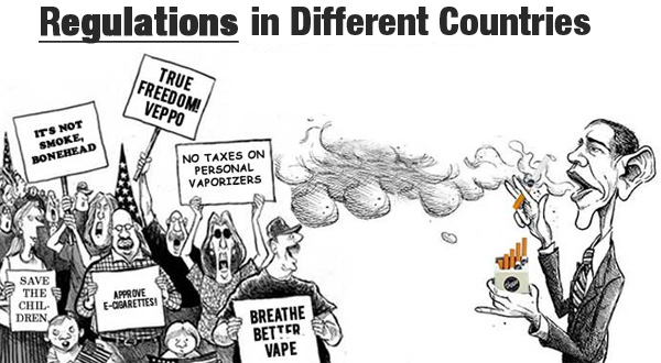 Vape Regulations-in-different-countries