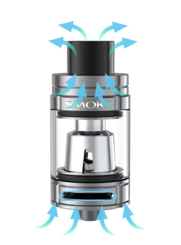 SMOK Prive V8 Kit Review - Tank