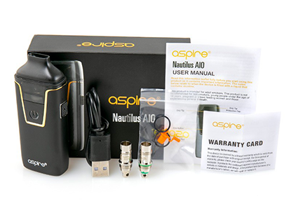 Unboxing Aspire Nautilus AIO Kit