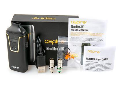 تقييم جهاز أسباير نوتيلوس AIO Aspire Nautilus AIO Kit - العلبة