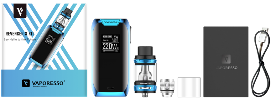 Vaporesso Revenger X Kit Review - The Kit content