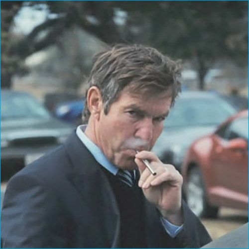 Top 50 Celebrities who vape - dennis quaid