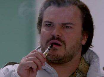 Top 50 Celebrities who vape - jack black