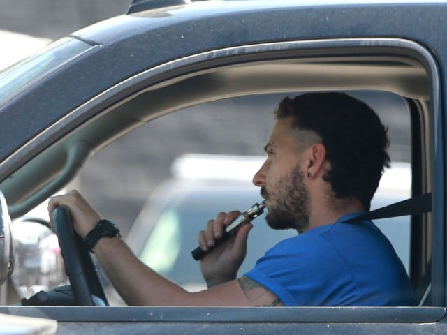 Top 50 Celebrities who vape - shia lebeouf