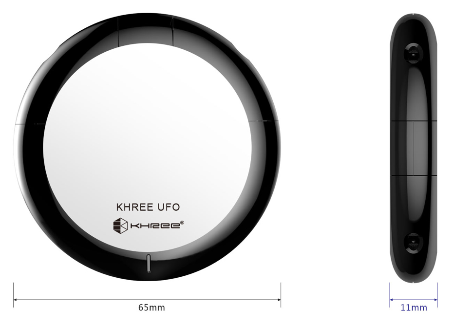 Khree Ufo Double Pod - Size and Weight